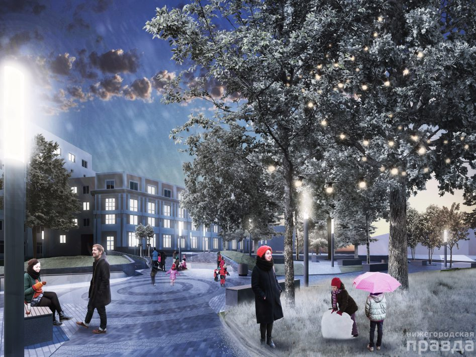 Благоустройство дворов по программе «Формирование комфортной городской среды» в Нижегородской области начнется в мае