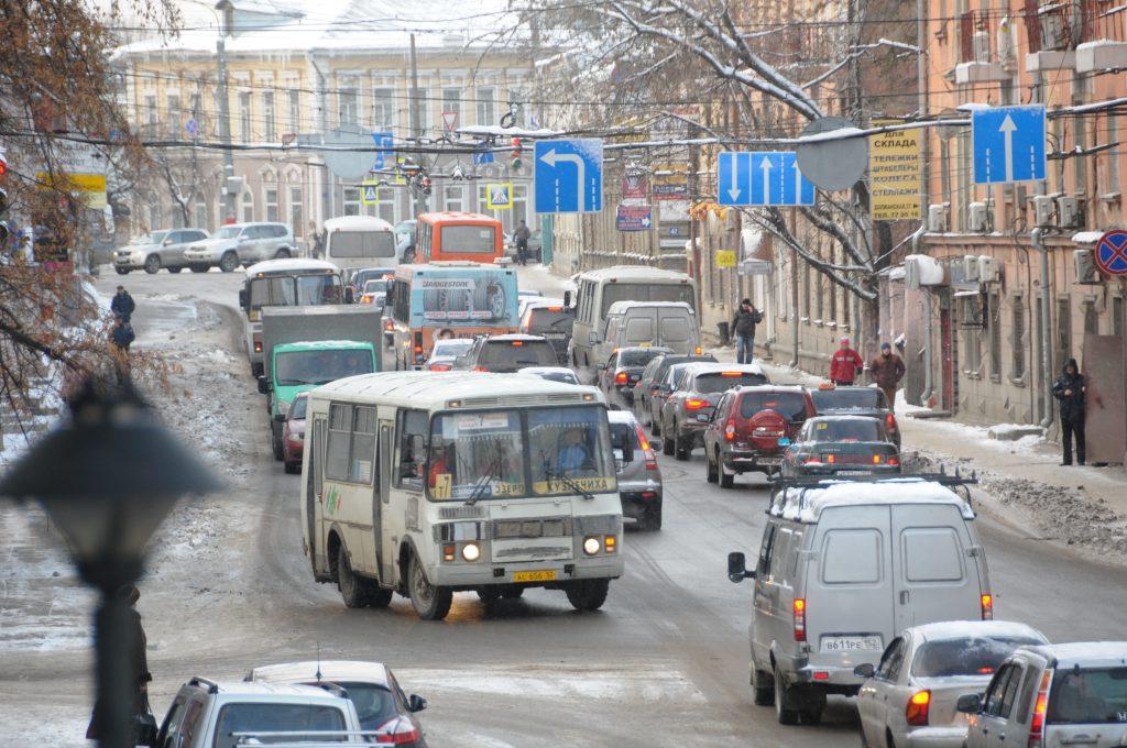 Движение транспорта в центре города временно изменится