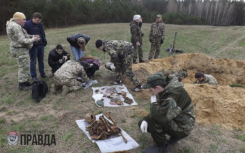 Нижегородские поисковики ищут родственников пятерых солдат