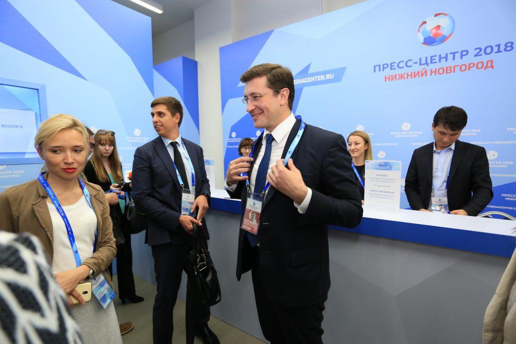 Глеб Никитин: «Главная задача — сохранять темпы опережающего развития, которые мы достигли при подготовке к Чемпионату»