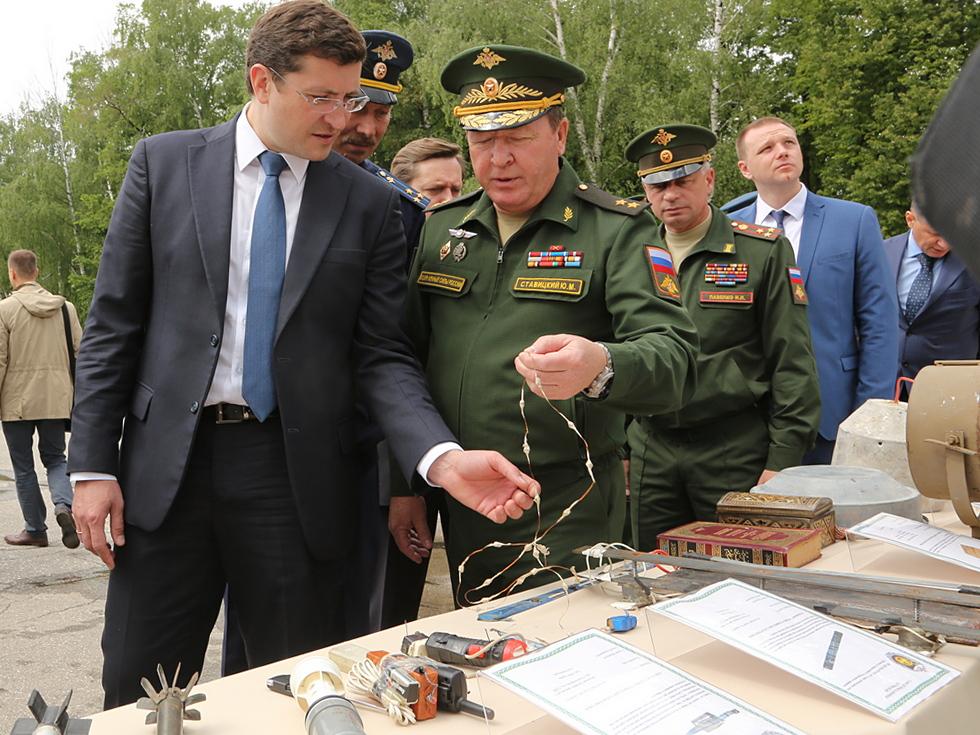 Глеб Никитин:  «Более 4000 юных нижегородцев уже вступили в ряды Юнармии»