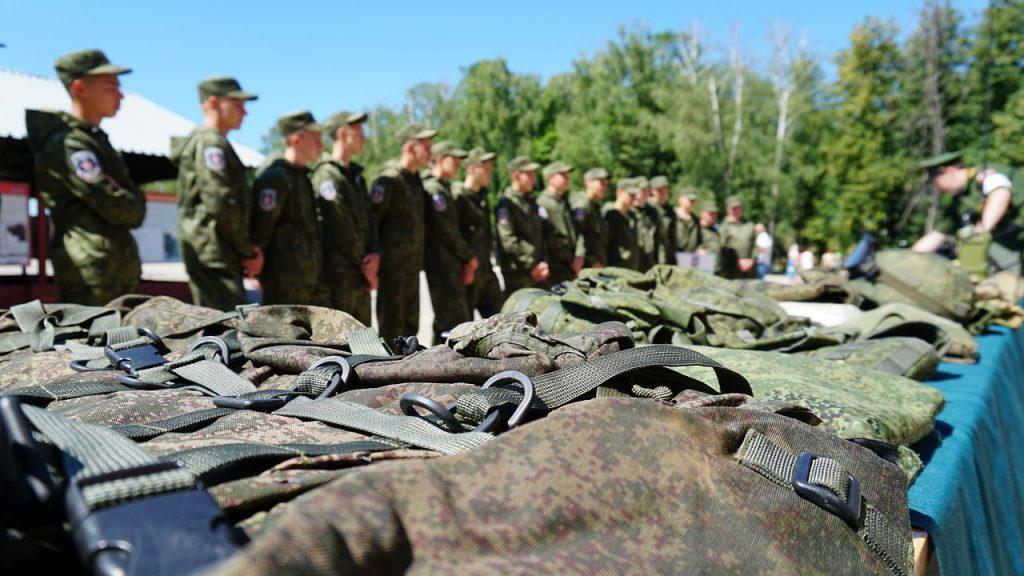 Старшеклассников приняли в «Гвардейцы» в Нижегородской области