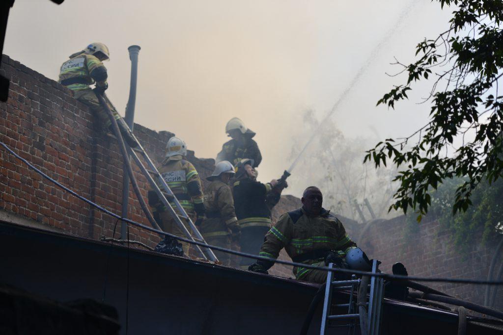 Пламенные борцы, или тяжёлые будни пожарных