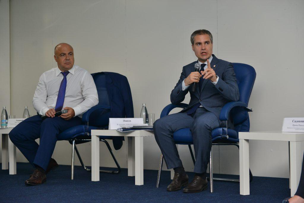 Владимир Панов представил бизнес-сообществу новую стратегию совместного взаимодействия
