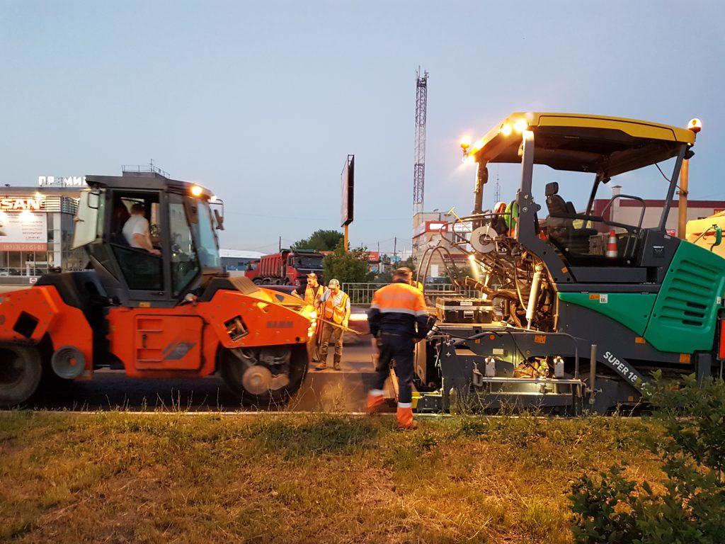 Ремонтные работы в рамках проекта «Безопасные и качественные дороги» полностью завершены в Ленинском районе