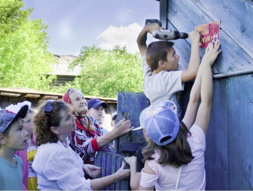 «Дом Героя» — такие таблички стали появляться на домах поселка Сосоновское