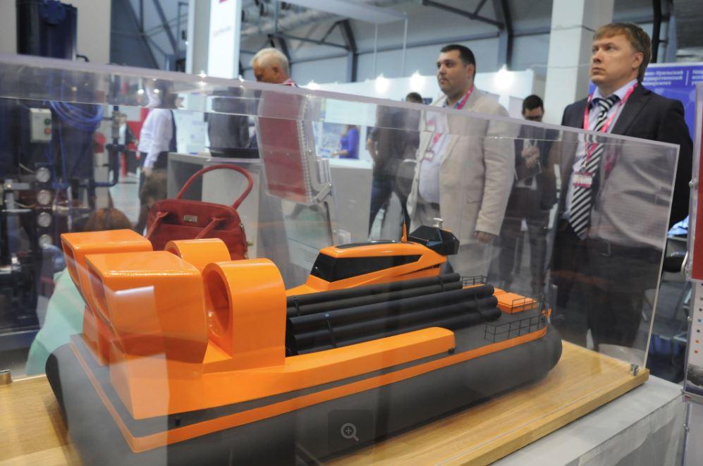 Китайцы заинтересовались нижегородским проектом судна на воздушной подушке