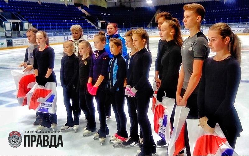 Шестеро нижегородских фигуристов стали новыми участниками проекта «Лидеры спорта»