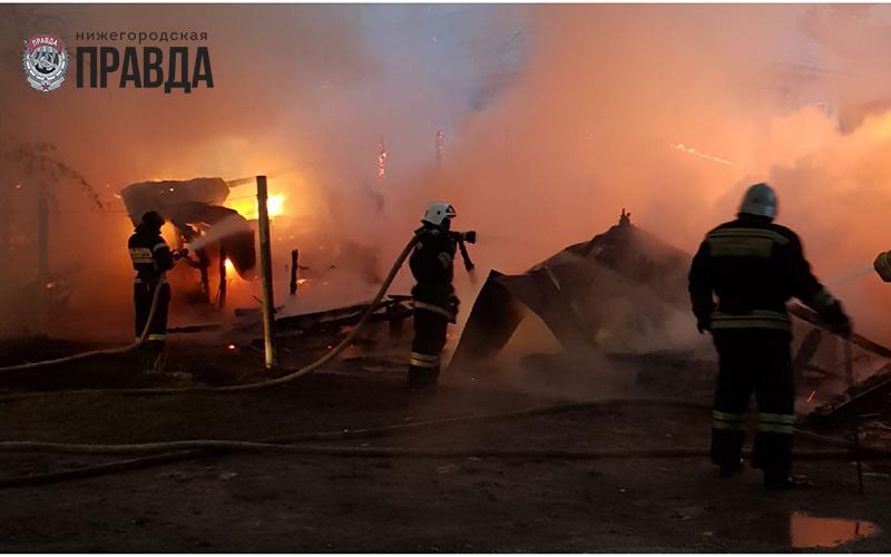 Пенсионер погиб на пожаре в Нижегородской области