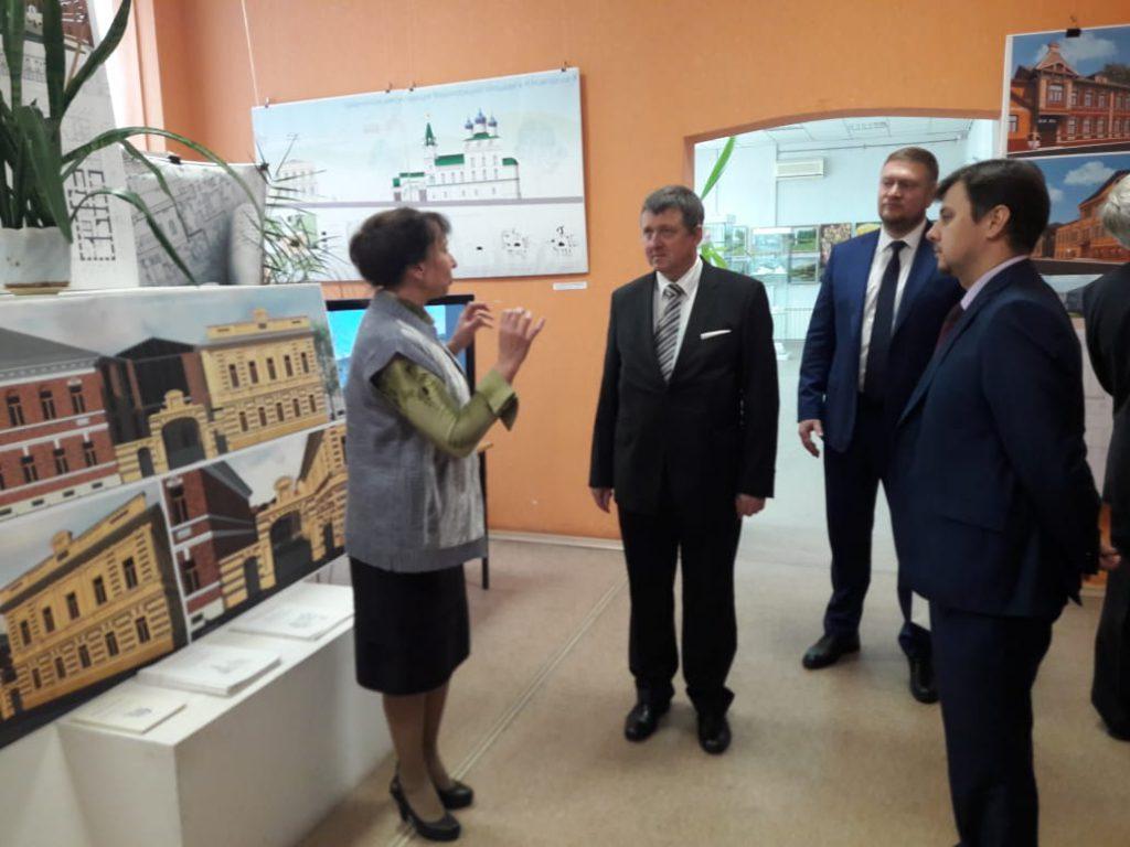 Выставка словенского архитектора Йоже Плечника открылась в Нижнем Новгороде