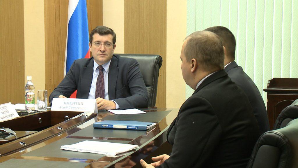 Глеб Никитин поручил интенсифицировать работу по газификации деревень Сысоевка и Ушаково