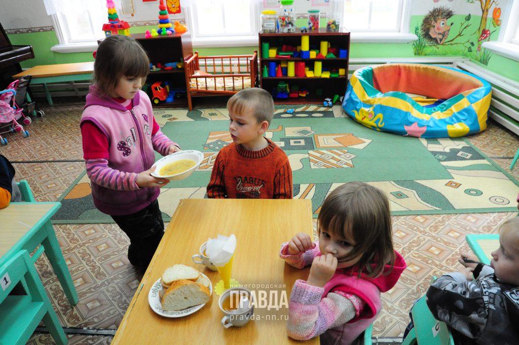 В нижегородских детских садах начали работать дежурные группы для детей