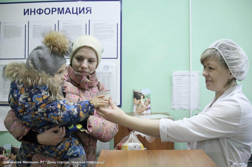 В Нижнем Новгороде откроются молочные кухни в новых микрорайонах