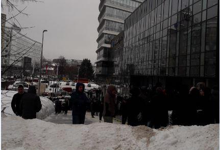 «Центр международной торговли» эвакуировали в Нижнем Новгороде