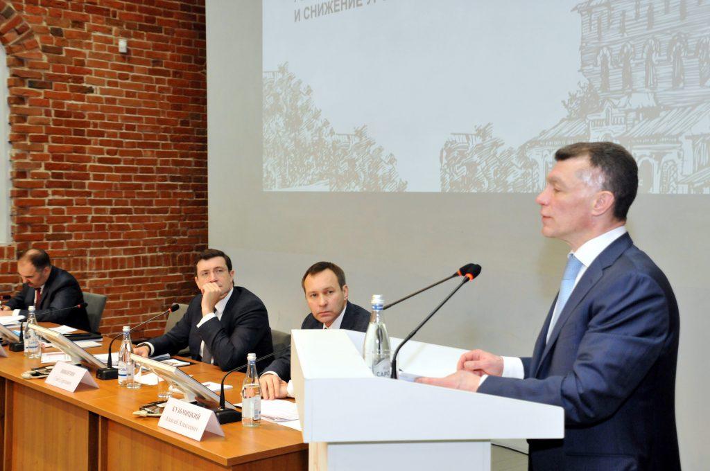 Максим Топилин поделился социальной идеей на портале «Команда правительства»