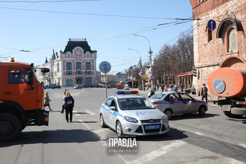 26 апреля перекроют Гребной канал, площадь Минина и подъезды к ней (КАРТА)