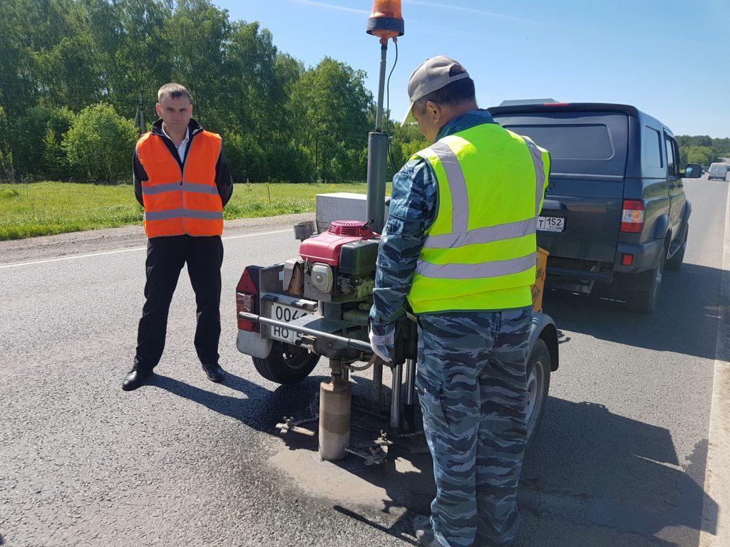 В Нижегородской области проверили состояние отремонтированных дорог