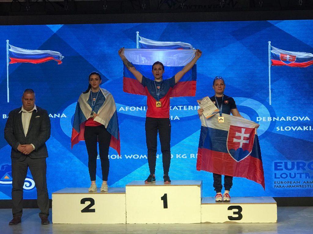 Нижегородка победила на Чемпионате Европы по армрестлингу