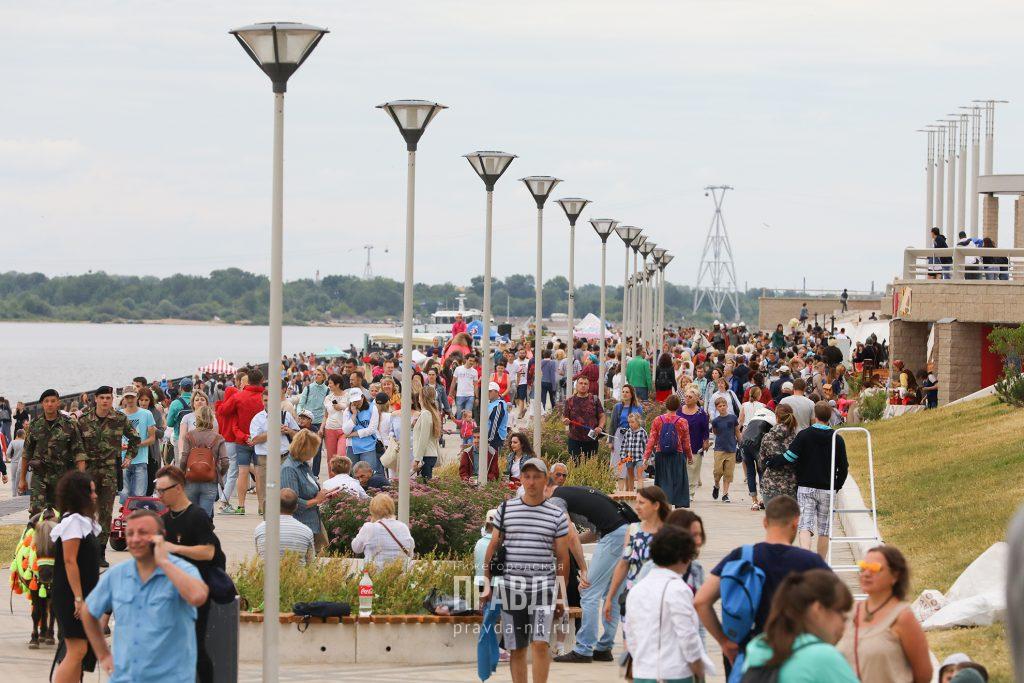 Стало известно, что ждет нижегородцев в День города на Нижневолжской набережной