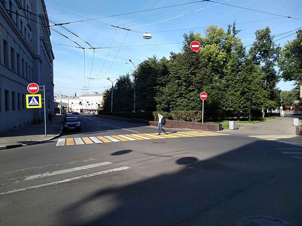 Разметку на пешеходных переходах обновят около нижегородских школ