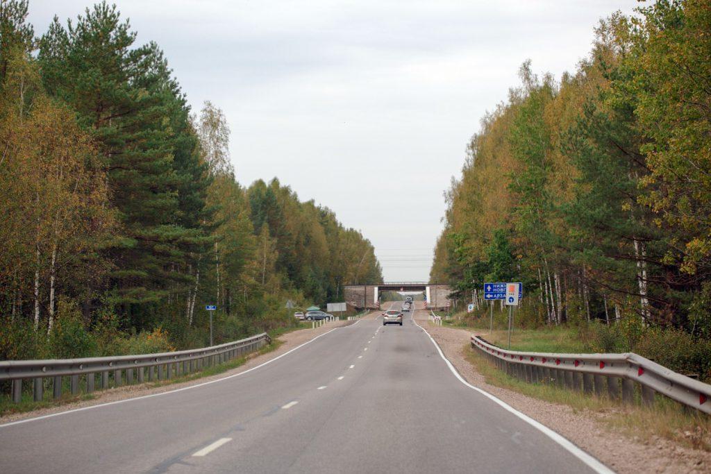Дорожное покрытие на трассе Р-158 в Нижегородской области обновят
