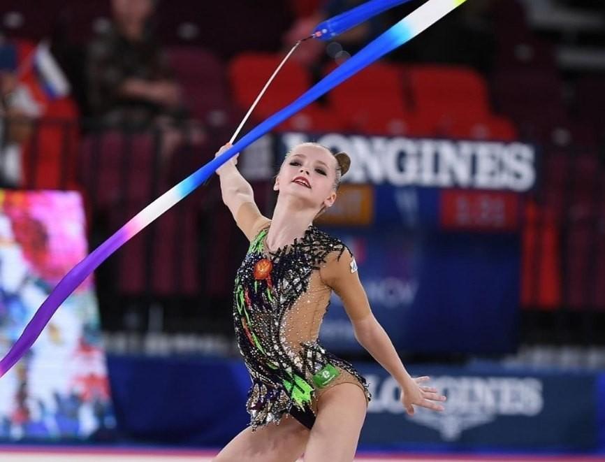 Юная нижегородка завоевала 2 золотые медали на чемпионате мира по художественной гимнастике
