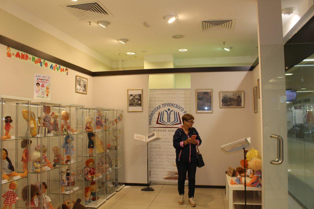 Необычная выставка игрушек и кукол Горьковской фабрики «Мир» открылась в Нижнем Новгороде
