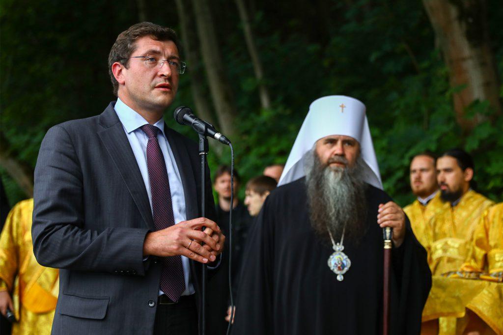 Глеб Никитин: «Возрождение Печерского монастыря— символ восстановления архитектурного облика города»