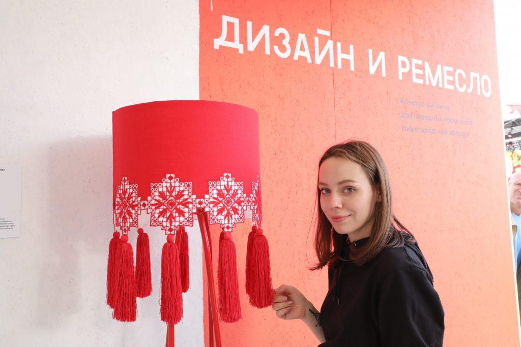 Москвичи игости столицы смогут увидеть работы победителей конкурса дизайна для НХП Нижегородской области «Дизайн иремесло»
