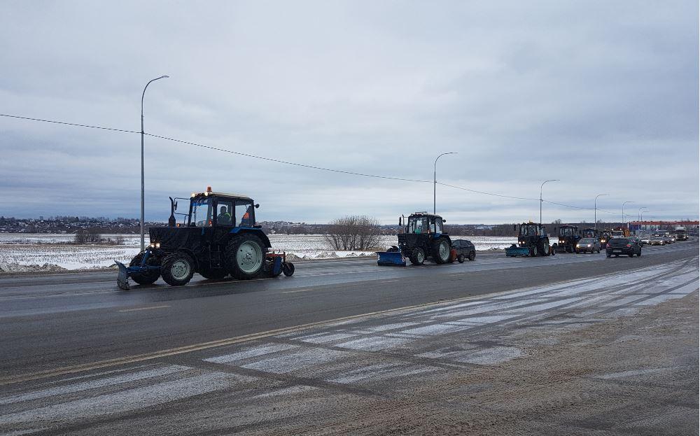 Специалисты «Главного управления автомобильных дорог» проверили качество песко-соляной смеси для обработки нижегородских трасс
