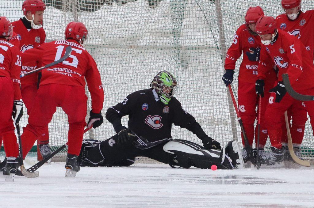 Хоккеисты нижегородского «Старта» одержали домашнюю победу