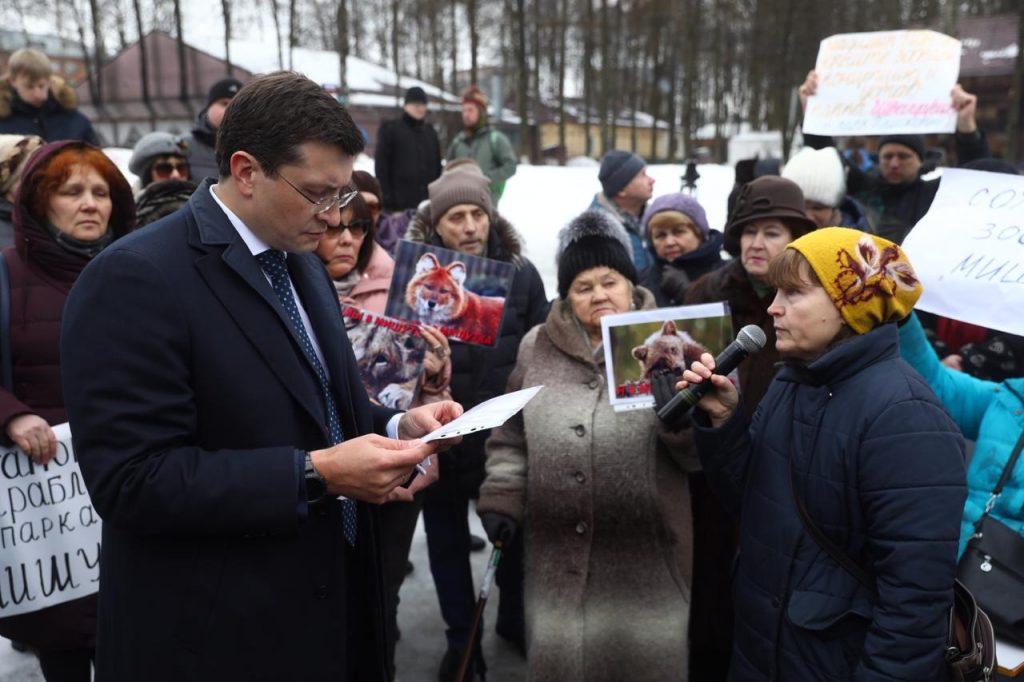 """Глеб Никитин: «Необходимость зоопарка в""""Швейцарии"""" должна определяться соображениями гуманности изаконности»"""
