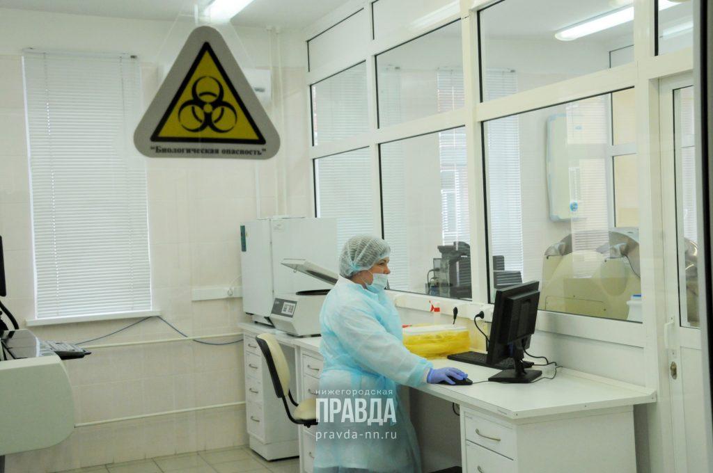 9 новых случаев заболевания коронавирусом зарегистрированы в Нижегородской области
